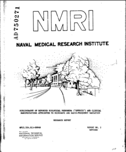 reported-biological-effects-of-radiofrequency-radiation-naval-medical-research-institute