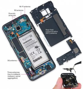Antény 5G telefonu