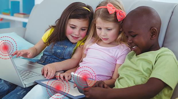 Děti a bezdrátové technologie